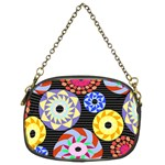 Colorful Retro Circular Pattern Chain Purses (Two Sides)  Back