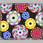 Colorful Retro Circular Pattern Canvas 24  x 20  24  x 20  x 0.875  Stretched Canvas