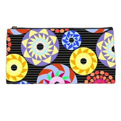 Colorful Retro Circular Pattern Pencil Cases