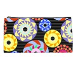 Colorful Retro Circular Pattern Pencil Cases Front
