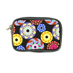 Colorful Retro Circular Pattern Coin Purse