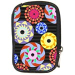 Colorful Retro Circular Pattern Compact Camera Cases Front