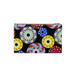 Colorful Retro Circular Pattern Cosmetic Bag (Small)  Back