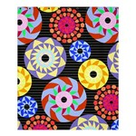 Colorful Retro Circular Pattern Shower Curtain 60  x 72  (Medium)  54.25 x65.71 Curtain