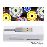 Colorful Retro Circular Pattern Memory Card Reader (Stick)  Front