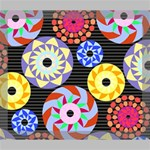 Colorful Retro Circular Pattern Deluxe Canvas 24  x 20   24  x 20  x 1.5  Stretched Canvas