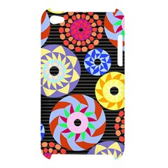 Colorful Retro Circular Pattern Apple iPod Touch 4