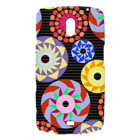 Colorful Retro Circular Pattern Samsung Galaxy Nexus i9250 Hardshell Case