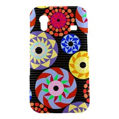 Colorful Retro Circular Pattern Samsung Galaxy Ace S5830 Hardshell Case