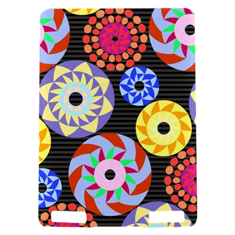 Colorful Retro Circular Pattern Kindle Touch 3G