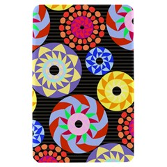 Colorful Retro Circular Pattern Kindle Fire (1st Gen) Hardshell Case