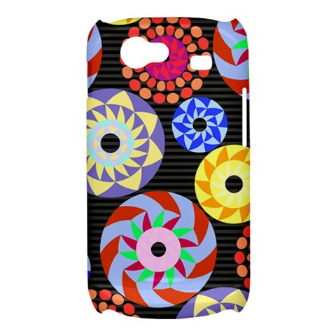 Colorful Retro Circular Pattern Samsung Galaxy Nexus S i9020 Hardshell Case