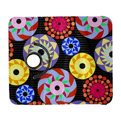 Colorful Retro Circular Pattern Samsung Galaxy S  Iii Flip 360 Case
