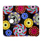 Colorful Retro Circular Pattern Samsung Galaxy S  III Flip 360 Case Front
