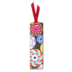 Colorful Retro Circular Pattern Small Book Marks