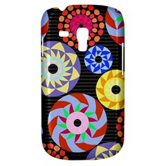 Colorful Retro Circular Pattern Samsung Galaxy S3 Mini I8190 Hardshell Case
