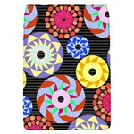 Colorful Retro Circular Pattern Flap Covers (S)  Front