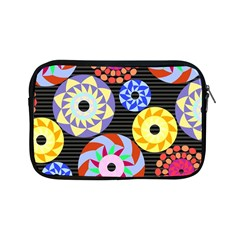 Colorful Retro Circular Pattern Apple Ipad Mini Zipper Cases