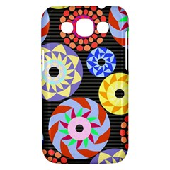 Colorful Retro Circular Pattern Samsung Galaxy Win I8550 Hardshell Case
