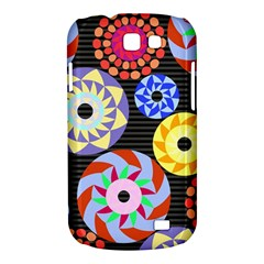 Colorful Retro Circular Pattern Samsung Galaxy Express I8730 Hardshell Case