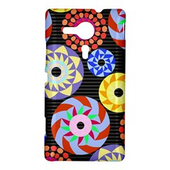 Colorful Retro Circular Pattern Sony Xperia SP