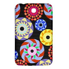 Colorful Retro Circular Pattern Samsung Galaxy Tab 3 (7 ) P3200 Hardshell Case