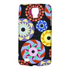 Colorful Retro Circular Pattern Galaxy S4 Active