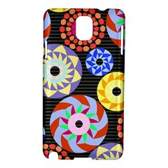 Colorful Retro Circular Pattern Samsung Galaxy Note 3 N9005 Hardshell Case
