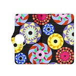Colorful Retro Circular Pattern Kindle Fire HDX 8.9  Flip 360 Case Front