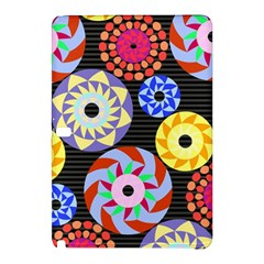 Colorful Retro Circular Pattern Samsung Galaxy Tab Pro 10 1 Hardshell Case