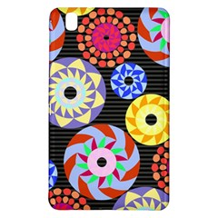 Colorful Retro Circular Pattern Samsung Galaxy Tab Pro 8 4 Hardshell Case