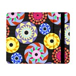 Colorful Retro Circular Pattern Samsung Galaxy Tab Pro 8.4  Flip Case Front