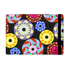 Colorful Retro Circular Pattern Ipad Mini 2 Flip Cases