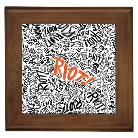 Paramore Is An American Rock Band Framed Tiles