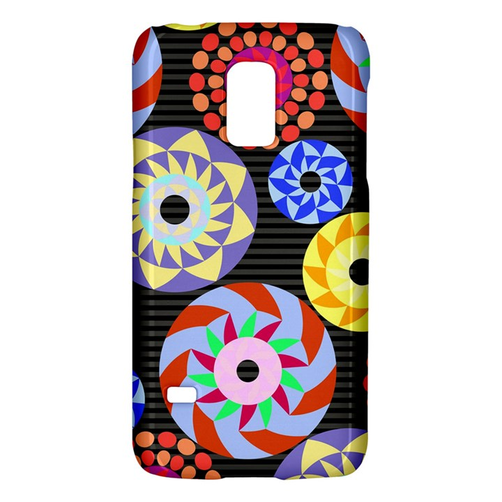 Colorful Retro Circular Pattern Galaxy S5 Mini