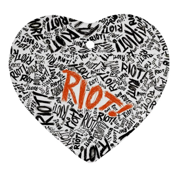 Paramore Is An American Rock Band Ornament (Heart)