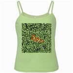 Paramore Is An American Rock Band Green Spaghetti Tank Front