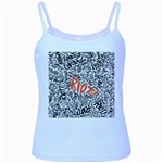 Paramore Is An American Rock Band Baby Blue Spaghetti Tank Front