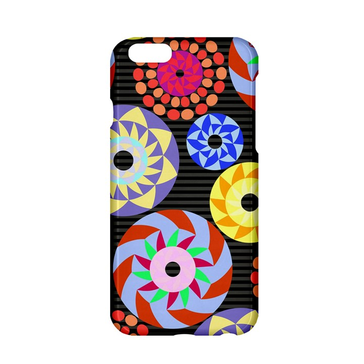 Colorful Retro Circular Pattern Apple iPhone 6/6S Hardshell Case