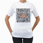 Paramore Is An American Rock Band Women s T-Shirt (White) (Two Sided) Front