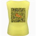 Paramore Is An American Rock Band Women s Yellow Tank Top Back