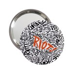 Paramore Is An American Rock Band 2.25  Handbag Mirrors Front