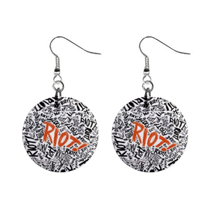 Paramore Is An American Rock Band Mini Button Earrings