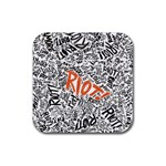 Paramore Is An American Rock Band Rubber Square Coaster (4 pack)  Front