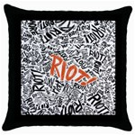 Paramore Is An American Rock Band Throw Pillow Case (Black) Front