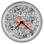 Paramore Is An American Rock Band Wall Clocks (Silver)  Front