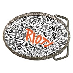 Paramore Is An American Rock Band Belt Buckles