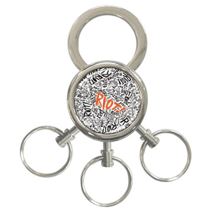 Paramore Is An American Rock Band 3-Ring Key Chains