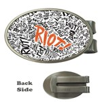 Paramore Is An American Rock Band Money Clips (Oval)  Front