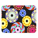 Colorful Retro Circular Pattern Double Sided Flano Blanket (Large)  80 x60 Blanket Front